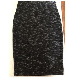 Stretchy Pull-On Pencil Skirt